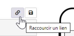 icone raccourcir un lien