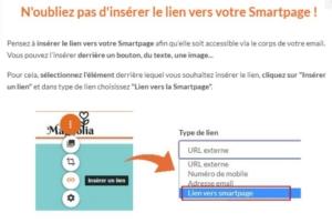 Lien Smartpage