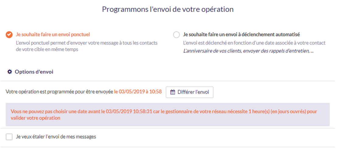 workflow validation affilié