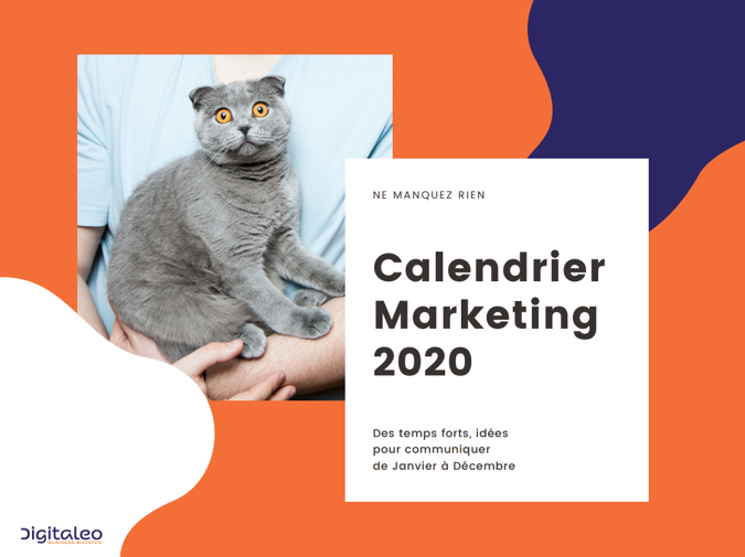 Calendrier marketing 2020